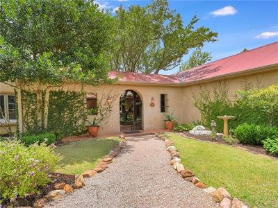 Wimberley Single Family Home For Sale: 550 Skyline Ridge Lookout