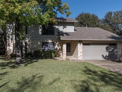 Travis County, Williamson County Single Family Home For Sale: 6712 Township Trl