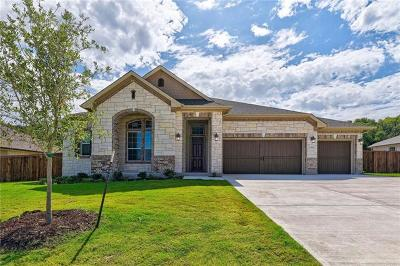 Round Rock Single Family Home For Sale: 3100 Alton Pl