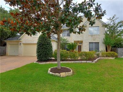 Round Rock Single Family Home Active Contingent: 2718 Loyaga Dr