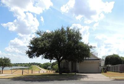 Round Rock Single Family Home For Sale: 2807 Settlement Dr