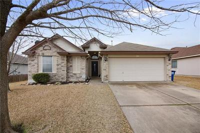 Hutto Single Family Home For Sale: 313 Clarks Way