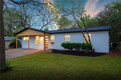 Single Family Home Pending - Taking Backups: 4909 Blueberry Trl