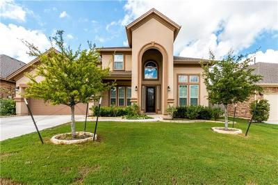 Leander Single Family Home For Sale: 2609 Shumard Bluff Dr