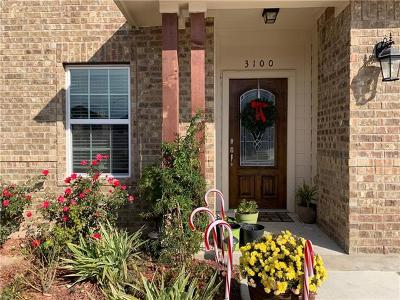 Pflugerville Single Family Home For Sale: 3100 Pearlman Dr