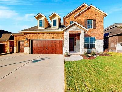 Hutto Single Family Home For Sale: 1202 Knowles Dr