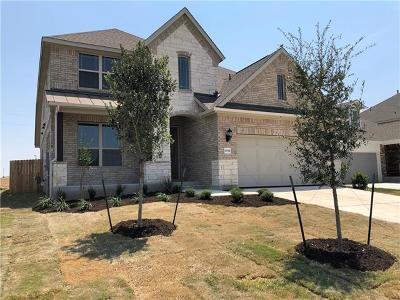 Round Rock TX Single Family Home For Sale: $330,838