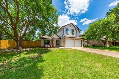 Cedar Park Single Family Home For Sale: 806 Brook Bnd
