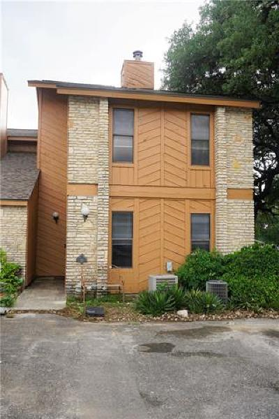 Wimberley Condo/Townhouse For Sale: 10 Cypress Fairway Vlg