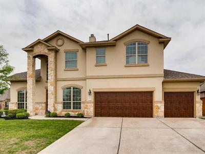 Round Rock Single Family Home For Sale: 2700 Margarita Ct