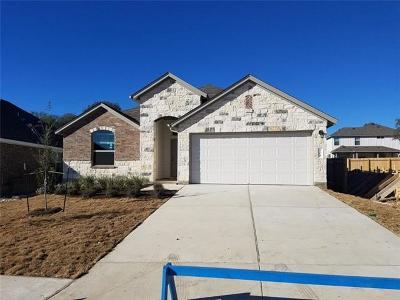 Leander Single Family Home For Sale: 112 Groesbeck Ln