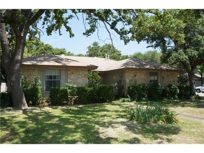 Georgetown Single Family Home Pending - Over 4 Months: 505 Lakeway Dr