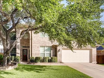 Cedar Park Single Family Home For Sale: 1108 Ritter Dr