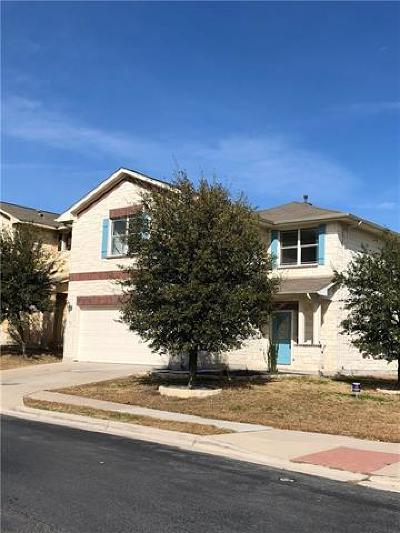 Travis County Single Family Home Pending - Taking Backups: 3520 Savage Springs Dr