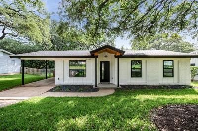 Travis County Single Family Home For Sale: 5107 Kings Hwy