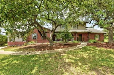 Austin Single Family Home Pending - Taking Backups: 16208 Crystal Hills Dr