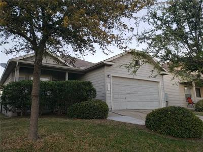 Manor Single Family Home For Sale: 11604 Hereford St