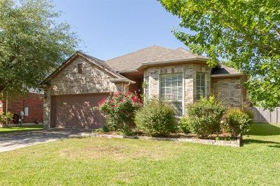 Round Rock Single Family Home For Sale: 16818 Cranston Dr