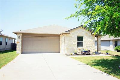 Hutto Single Family Home Pending - Taking Backups: 109 Lavaca Loop