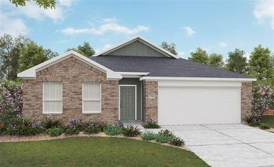 Manor Single Family Home For Sale: 11721 Emerald Springs Ln