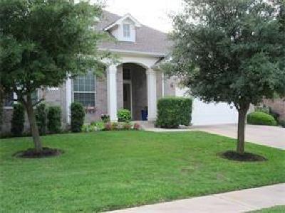 Round Rock Rental For Rent: 3248 Ranch Park Trl