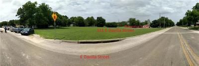 Williamson County Residential Lots & Land For Sale: Davilla St
