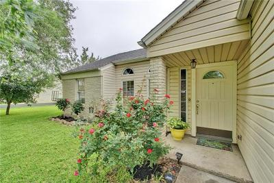 Pflugerville Single Family Home Pending - Taking Backups: 3612 Peach Vista Dr