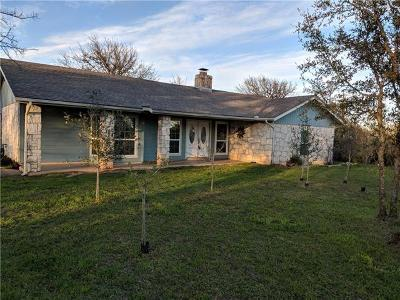 Buda Single Family Home Pending - Taking Backups: 500 Elliott Ranch Rd