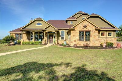 Bastrop Single Family Home For Sale: 220 McAllister Rd