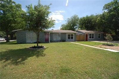 Travis County Single Family Home For Sale: 501 Grissom Ct