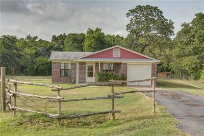 Cedar Creek TX Single Family Home For Sale: $185,000