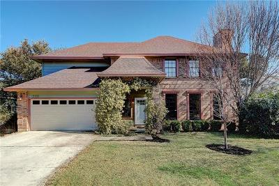 Travis County, Williamson County Single Family Home Pending - Taking Backups: 13105 Briar Hollow Dr