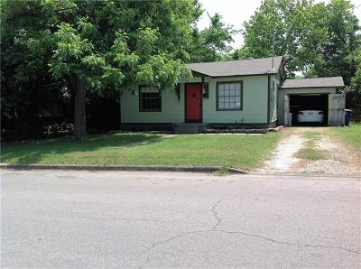 Travis County Single Family Home Pending - Taking Backups: 1809 Palo Duro Rd