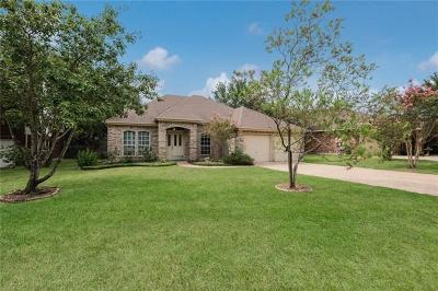 Hays County, Travis County, Williamson County Single Family Home Pending - Taking Backups: 11005 Pebble Garden Ln
