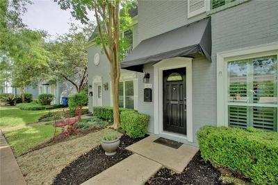 Austin Condo/Townhouse For Sale: 6109-A Bullard Dr #1
