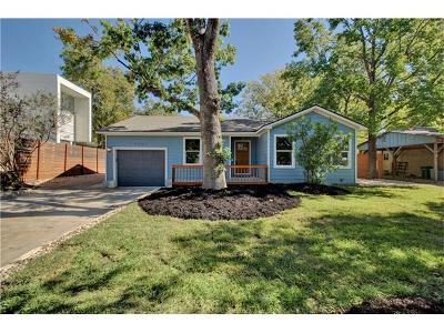 Austin TX Single Family Home For Sale: $874,900