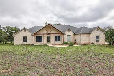Dripping Springs Single Family Home For Sale: 901 Barton Creek Dr