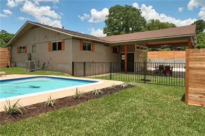 Austin Single Family Home For Sale: 3903 Carmel Dr