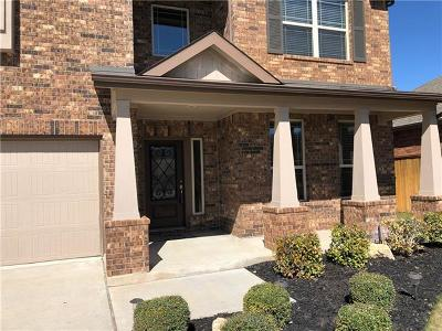 Round Rock Rental For Rent: 4038 Geary