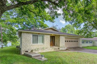 Marble Falls Single Family Home For Sale: 903 Lakeshore