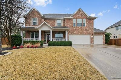 Cedar Park TX Single Family Home For Sale: $430,000