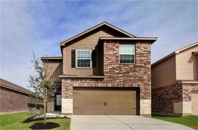 Manor Single Family Home For Sale: 13224 William McKinley Way