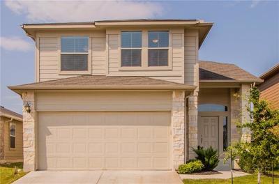 Manor Single Family Home Pending - Taking Backups: 12104 Walter Vaughn Dr