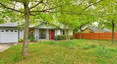 Austin Single Family Home Pending - Taking Backups: 11825 Tobler Trl