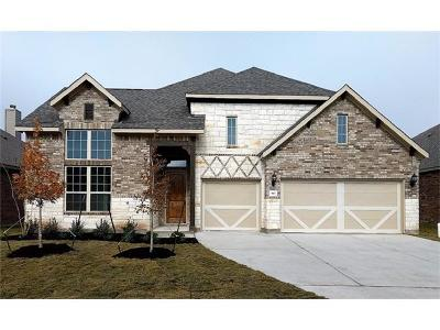 Leander Single Family Home For Sale: 913 McKavitt Dr