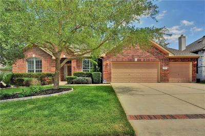 Round Rock Single Family Home Pending - Taking Backups: 3249 Goldenoak Cir
