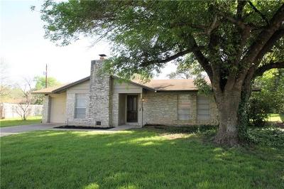 Austin TX Single Family Home Pending - Taking Backups: $369,950
