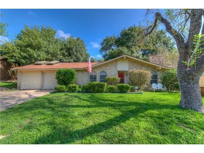 Austin Single Family Home For Sale: 1302 Barrington Dr