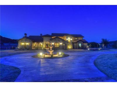 Dripping Springs Single Family Home For Sale: 11160 Grand Summit Blvd