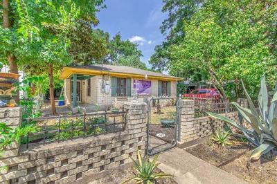 Travis County Single Family Home Pending - Taking Backups: 3116 Garwood St